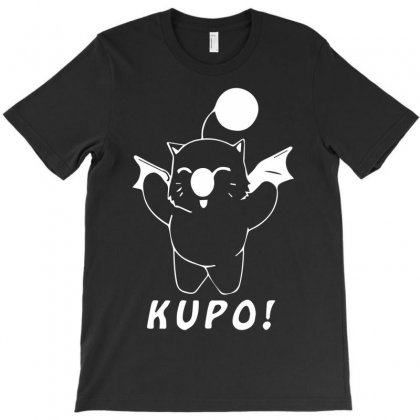 Moogle Final Fantasy T Kupo Gaming Cute Moguri T-shirt Designed By Mdk Art