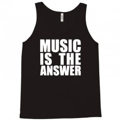 music is the answer printed Tank Top | Artistshot