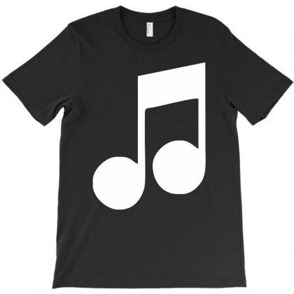Music Note T-shirt Designed By Mdk Art