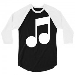 music note 3/4 Sleeve Shirt | Artistshot