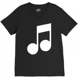 music note V-Neck Tee | Artistshot
