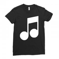 music note Ladies Fitted T-Shirt | Artistshot