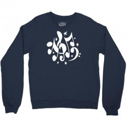 music notes Crewneck Sweatshirt | Artistshot