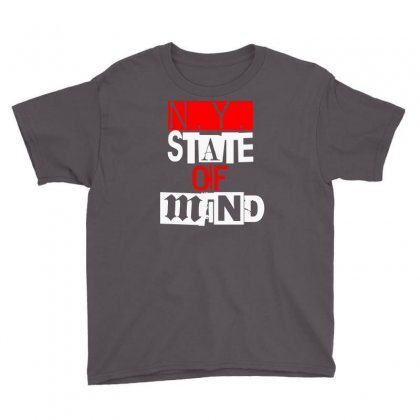 Ny State Of Mind Youth Tee Designed By Mdk Art