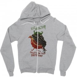 eat fruits Zipper Hoodie | Artistshot