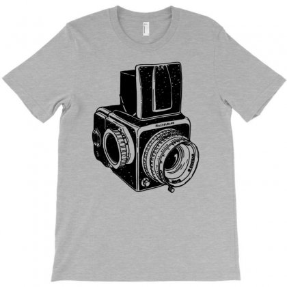 Hasselblad Vintage Camera T-shirt Designed By Tonyhaddearts