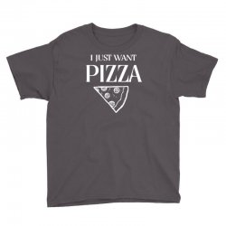 i just want pizza Youth Tee   Artistshot