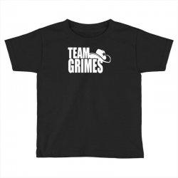 team grimes walking dead Toddler T-shirt | Artistshot
