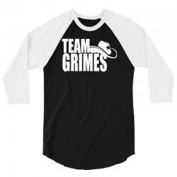 team grimes walking dead 3/4 Sleeve Shirt | Artistshot