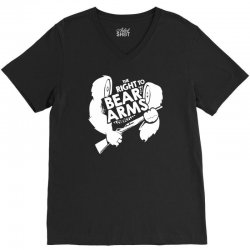 the right to bear arms V-Neck Tee | Artistshot