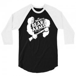 the right to bear arms 3/4 Sleeve Shirt | Artistshot