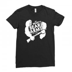 the right to bear arms Ladies Fitted T-Shirt | Artistshot