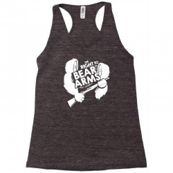 the right to bear arms Racerback Tank | Artistshot