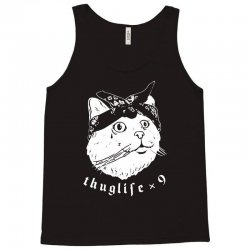 thug cat Tank Top | Artistshot