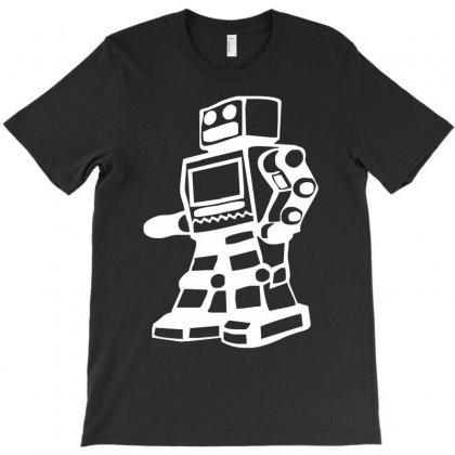 Robot Funny T-shirt Designed By Mdk Art