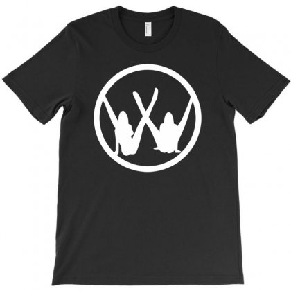 Vw Strip Logo T-shirt Designed By Tonyhaddearts