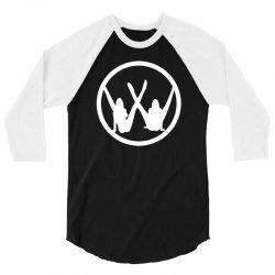 vw strip logo 3/4 Sleeve Shirt   Artistshot