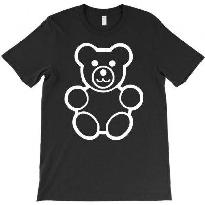 Teddy Bear Funny T-shirt Designed By Mdk Art