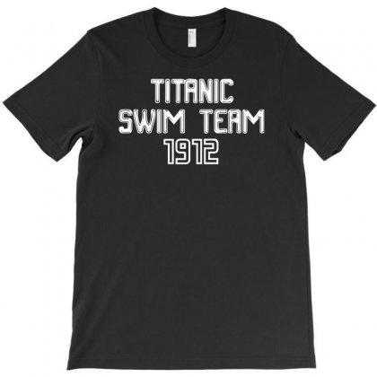 Titanic Swim Team 1912 Funny T-shirt Designed By Mdk Art