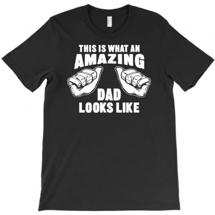 Amazing Dad Funny T-shirt Designed By Andini
