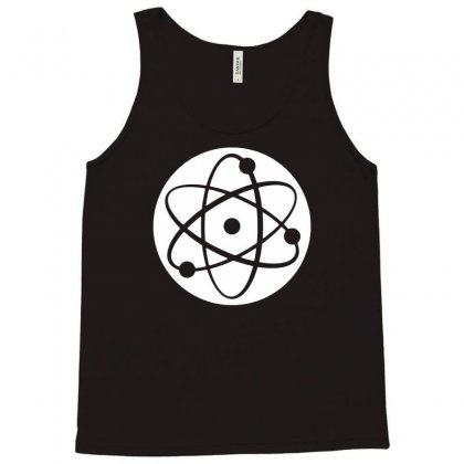 Atom Symbol Funny Tank Top Designed By Andini