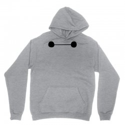 9ae02c79 Custom Big Hero 6 Baymax Eyes Zipper Hoodie By Andini - Artistshot