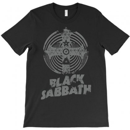 Black Sabbath Paranoid Cross Rock Music Band T-shirt Designed By Andini