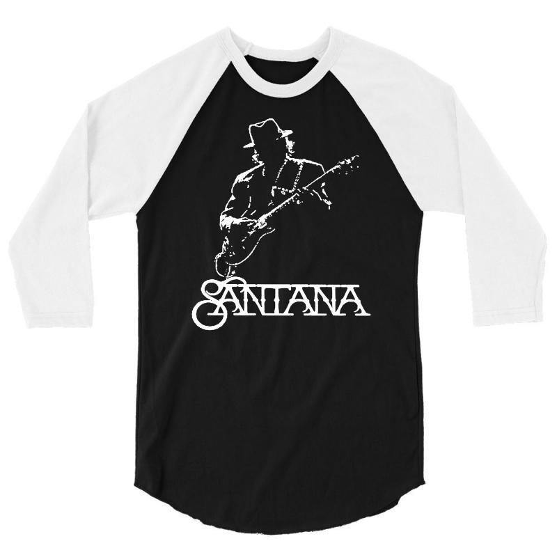 858100b4f Custom Carlos Santana 3/4 Sleeve Shirt By Andini - Artistshot