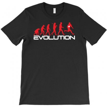 Evolution Of Rugby Funny T-shirt Designed By Andini