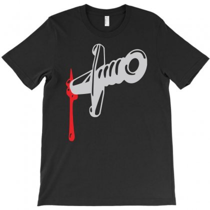 Knife Blood Funny T-shirt Designed By Andini