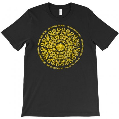 Mandala Psychedelic T-shirt Designed By Andini