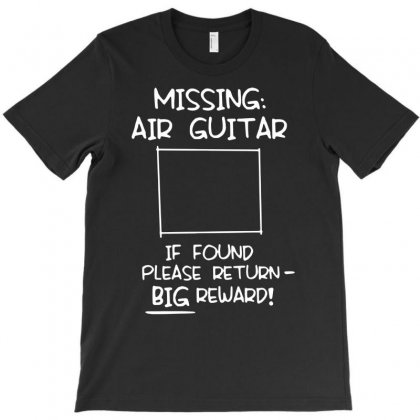 Missing Air Guitar T-shirt Designed By Andini