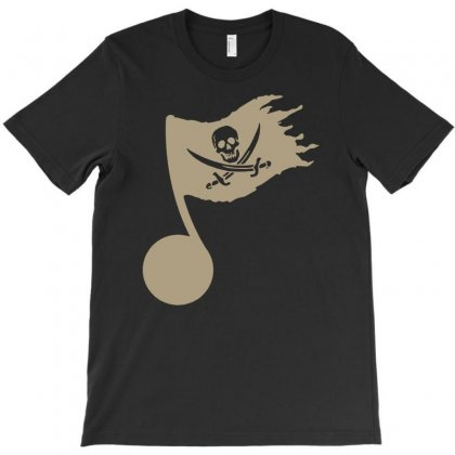 Music Pirate T-shirt Designed By Andini