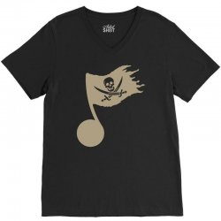 music pirate V-Neck Tee | Artistshot