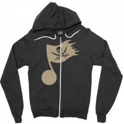 music pirate Zipper Hoodie | Artistshot