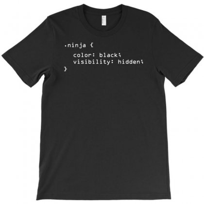 Ninja Code T-shirt Designed By Andini