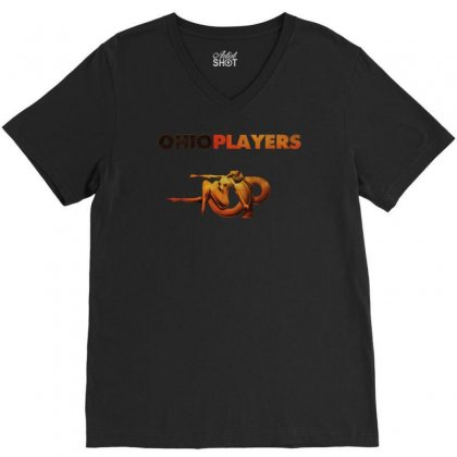 Ohio Players V-neck Tee Designed By Andini