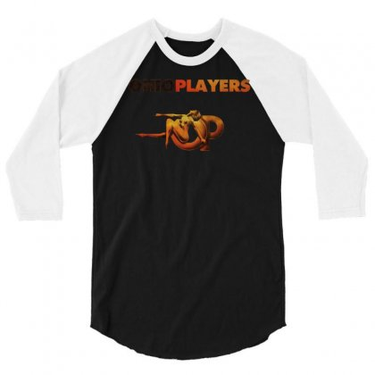 Ohio Players 3/4 Sleeve Shirt Designed By Andini