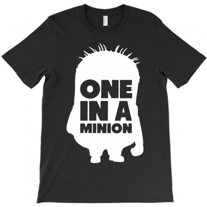 One In A Minion T-shirt Designed By Andini