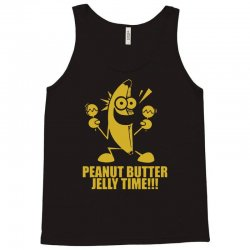 peanut butter jelly time banana Tank Top | Artistshot