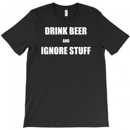 Drink Beer Funny Shirt T-shirt Designed By Narayatees