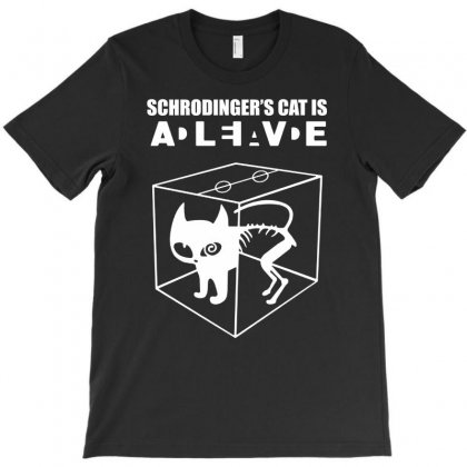 The Big Bang Theory Sheldon Cooper Schrodinger's Cat T-shirt Designed By Andini