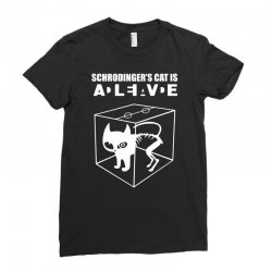 the big bang theory sheldon cooper schrodinger's cat Ladies Fitted T-Shirt | Artistshot