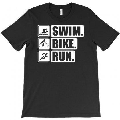 V6 Swim Bike Run T-shirt Designed By Andini