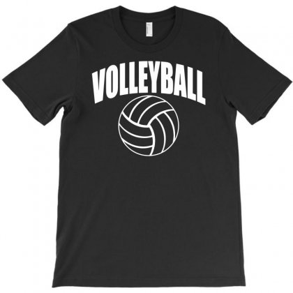 Volleyball Arch T-shirt Designed By Andini