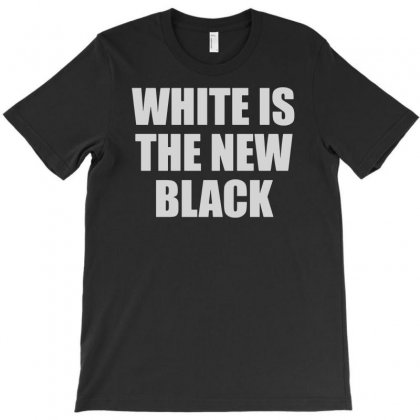 White Is The New Black T-shirt Designed By Andini