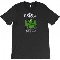 cthulhu hears the call T-Shirt | Artistshot