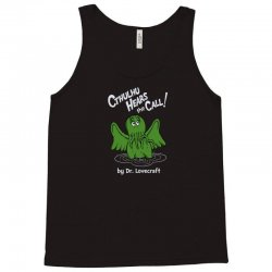cthulhu hears the call Tank Top | Artistshot