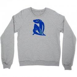 blue (never)nude Crewneck Sweatshirt   Artistshot