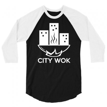 City Wok 3/4 Sleeve Shirt Designed By Narayatees